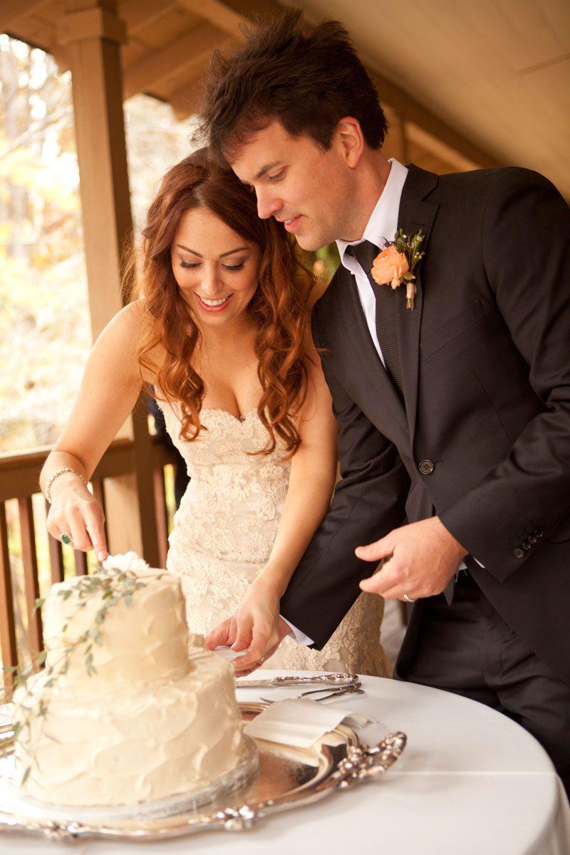 Cutting the Cake - Love Like Wedding