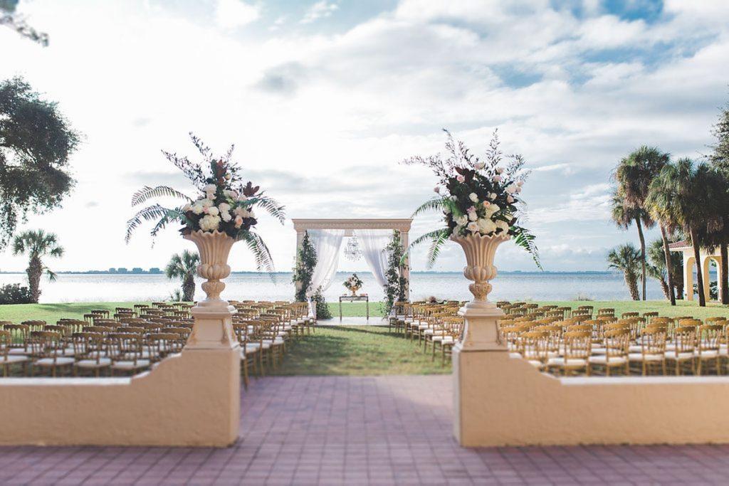 Elegant Garden Wedding At Powel Crosley Estate In Sarasota