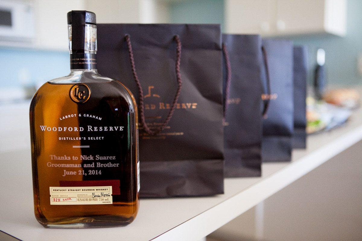 Engraved Bourbon Whiskey