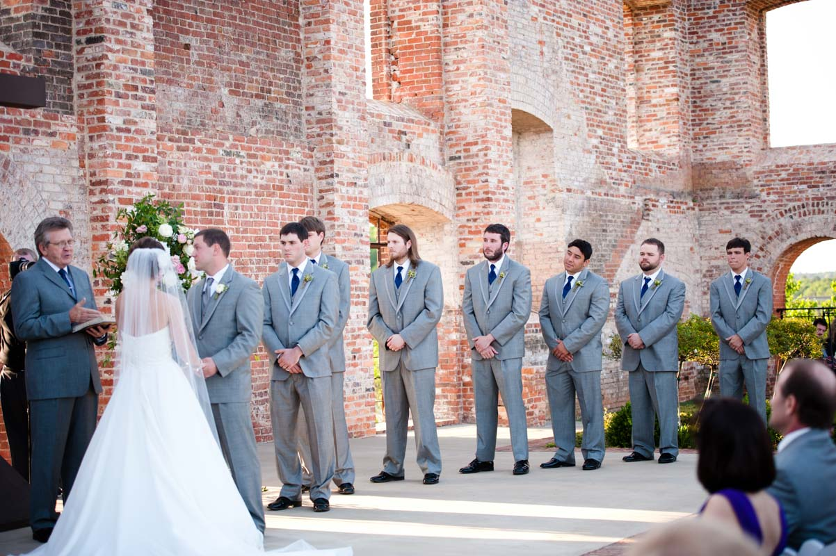Exchanging Vows - Tessa Marie Weddings