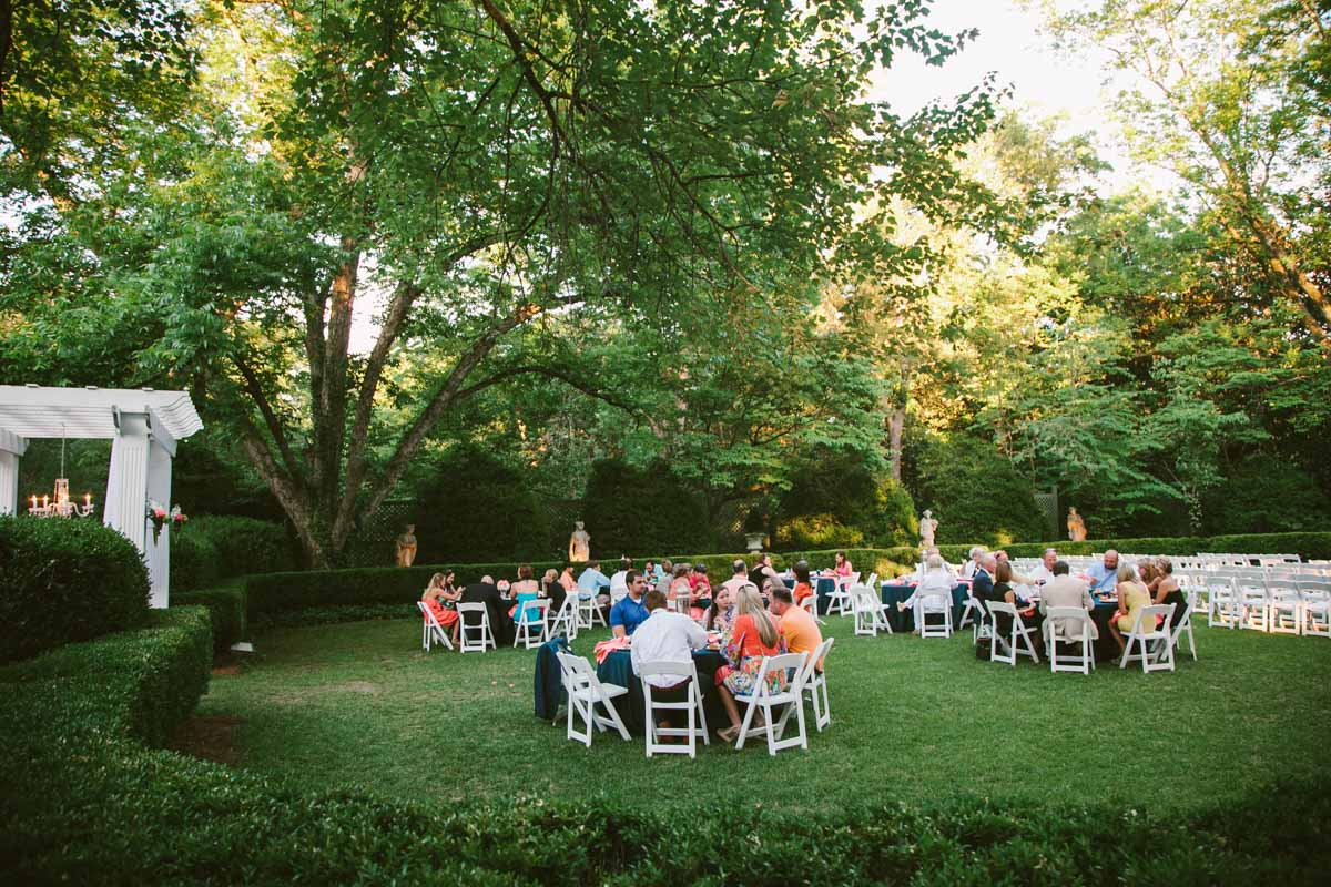 Far Shot of Reception Venue - Mark WIlliams Studio Photography