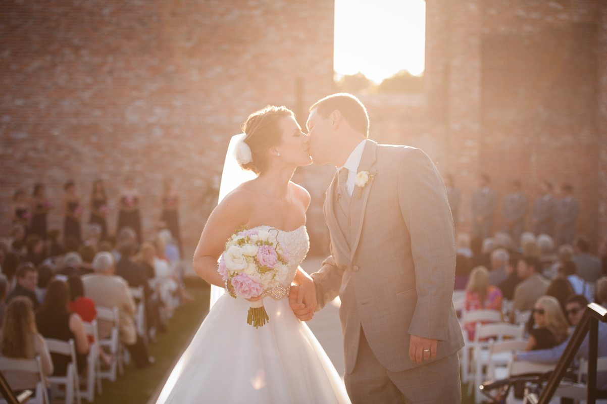 First Kiss - Tessa Marie Weddings
