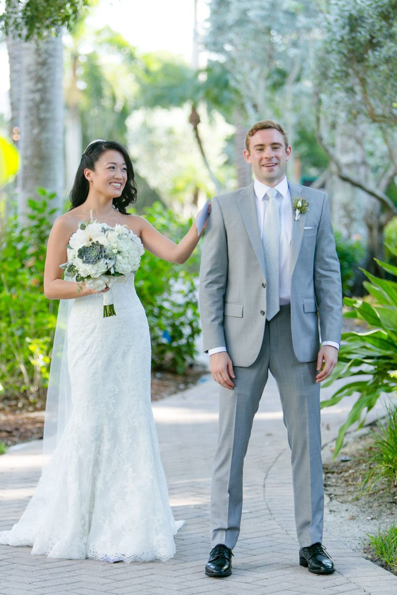 Stylish Beach Wedding at LaPlaya Beach and Golf Resort in Naples, FL ...