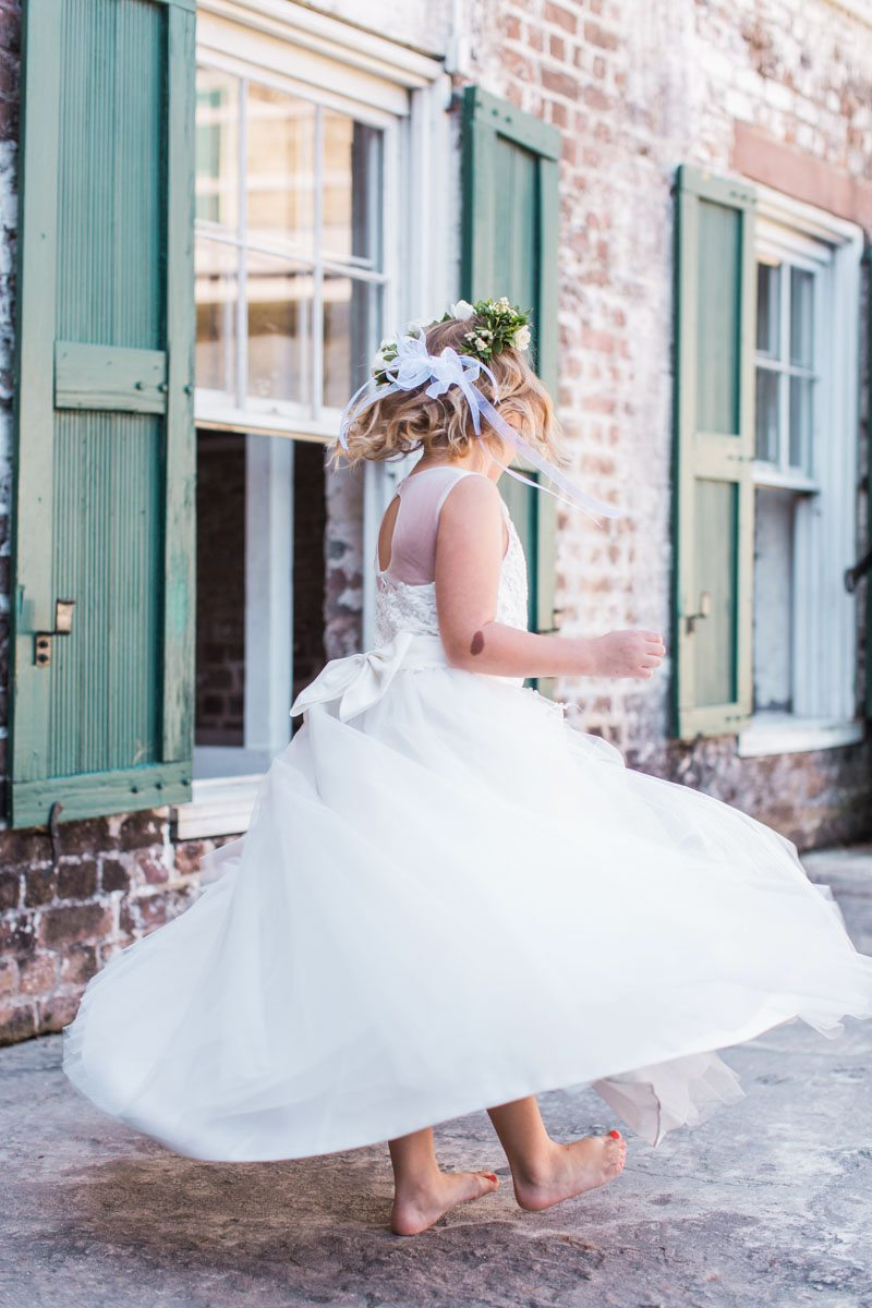 Flower Girl Twirling