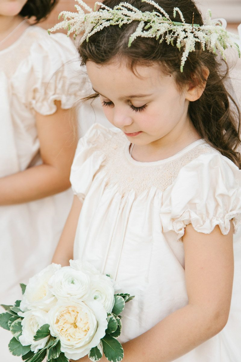 _Flower girl with floral wreath hair piece and bouquet katelyntaylor-0339