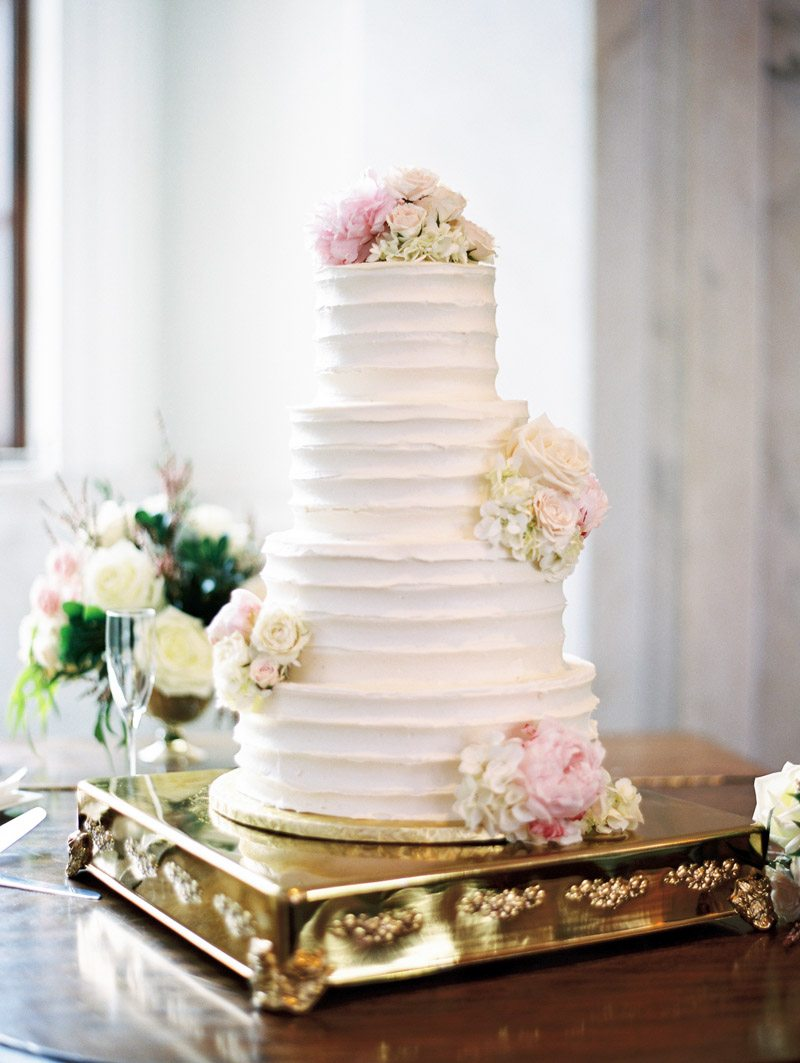 Four Tier Wedding Cake - Morning Light by Michelle Landreau
