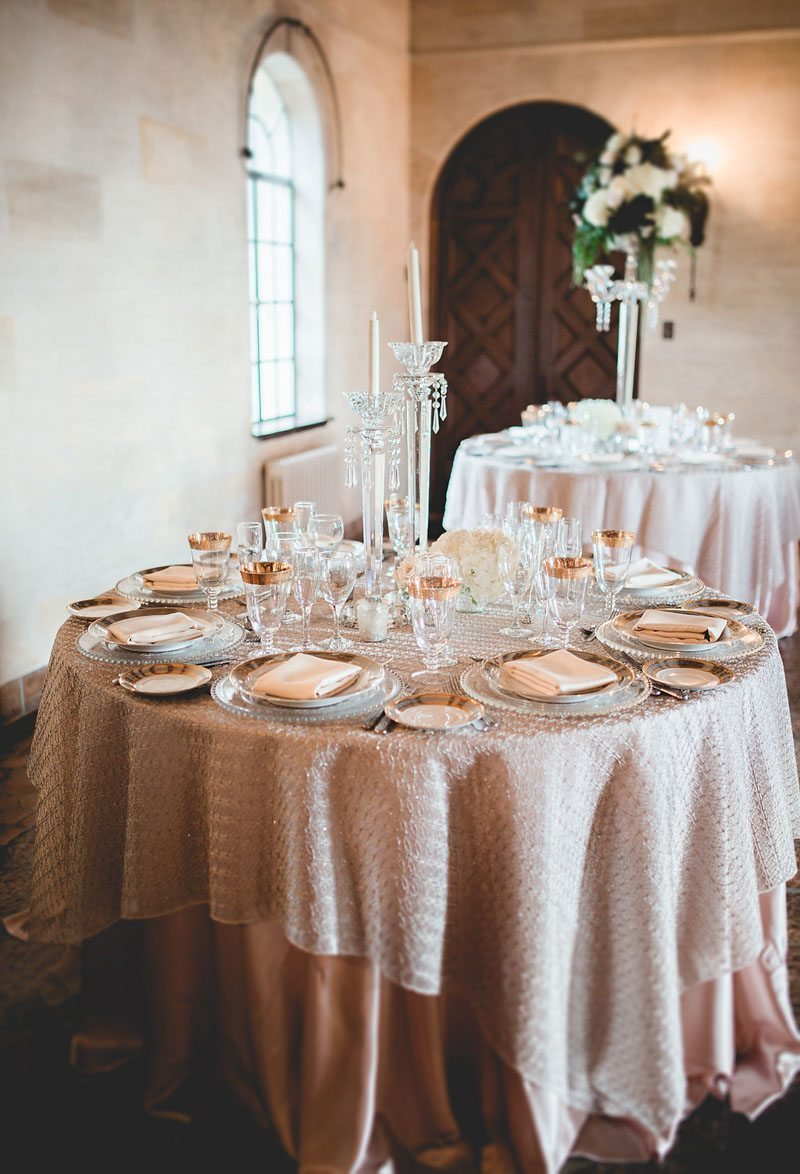 Full Table Settings - Tara Tomlinson Photography