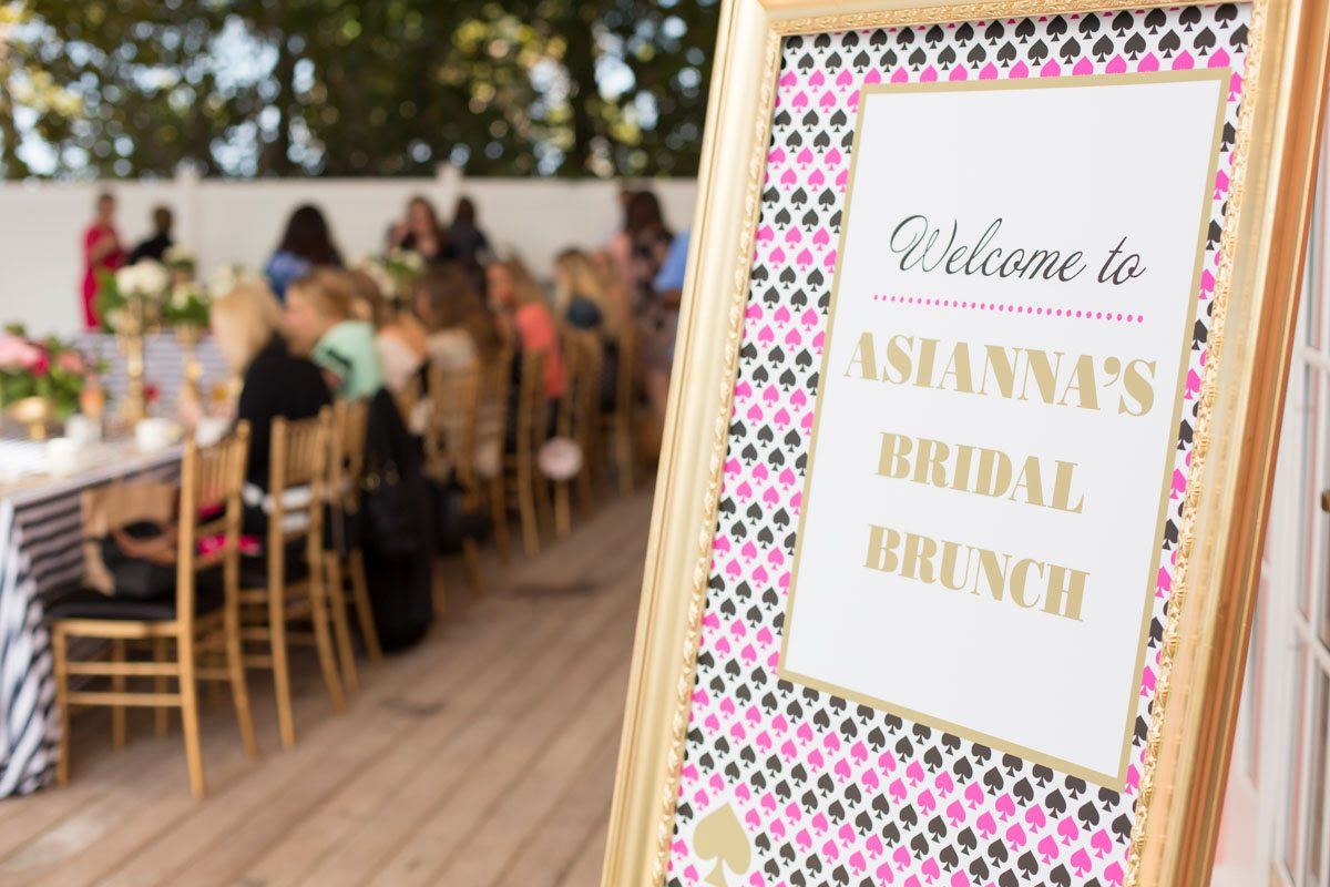_Gold pink and black bridal welcome sign Harper_Harper_Brandi_Image_Photography_77A9983