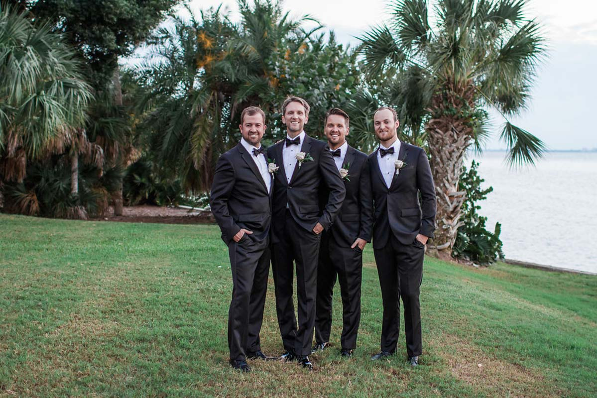 Groom and Groomsmen - Tara Tomlinson Photography