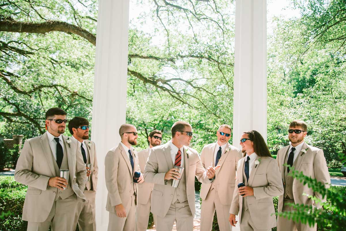 Groomsmen - Mark Williams Studio Photography
