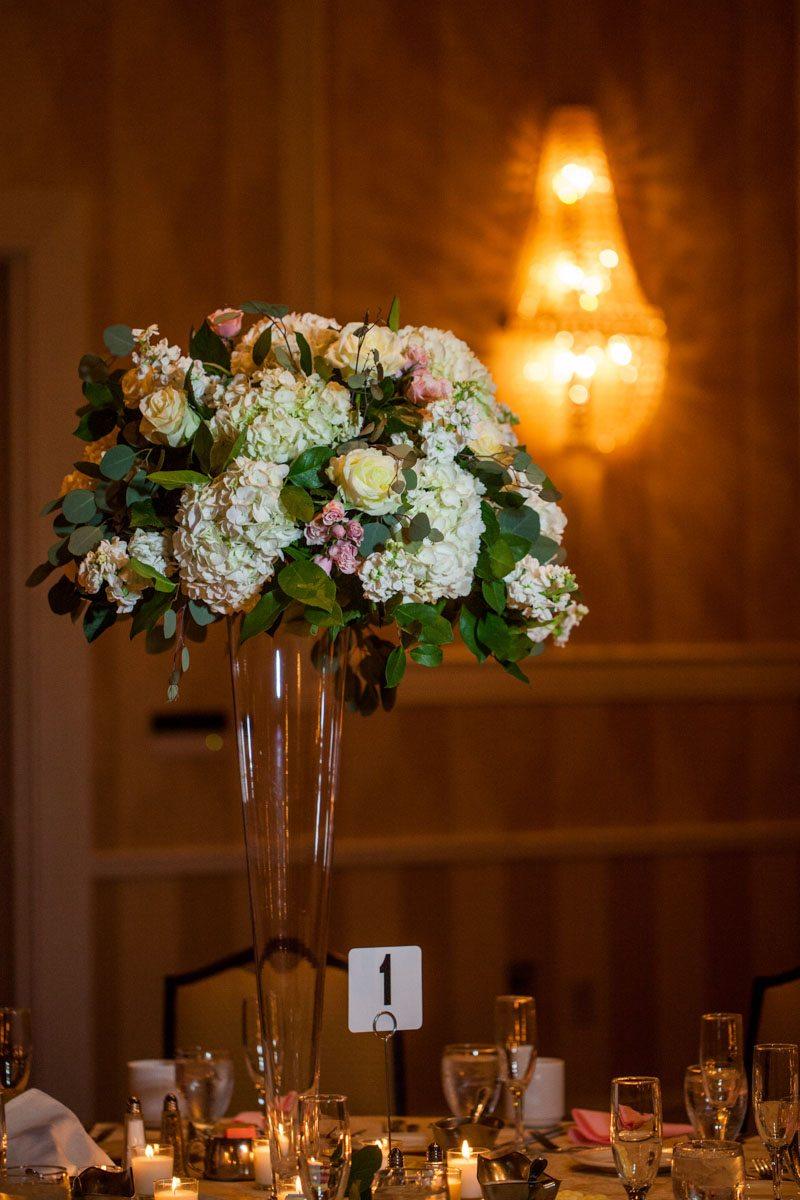 _Hydrangea tall table centerpiece Herndon_Herndon_Sharon_Theresa_Wheaton_20150627sharontheresawheaton1058