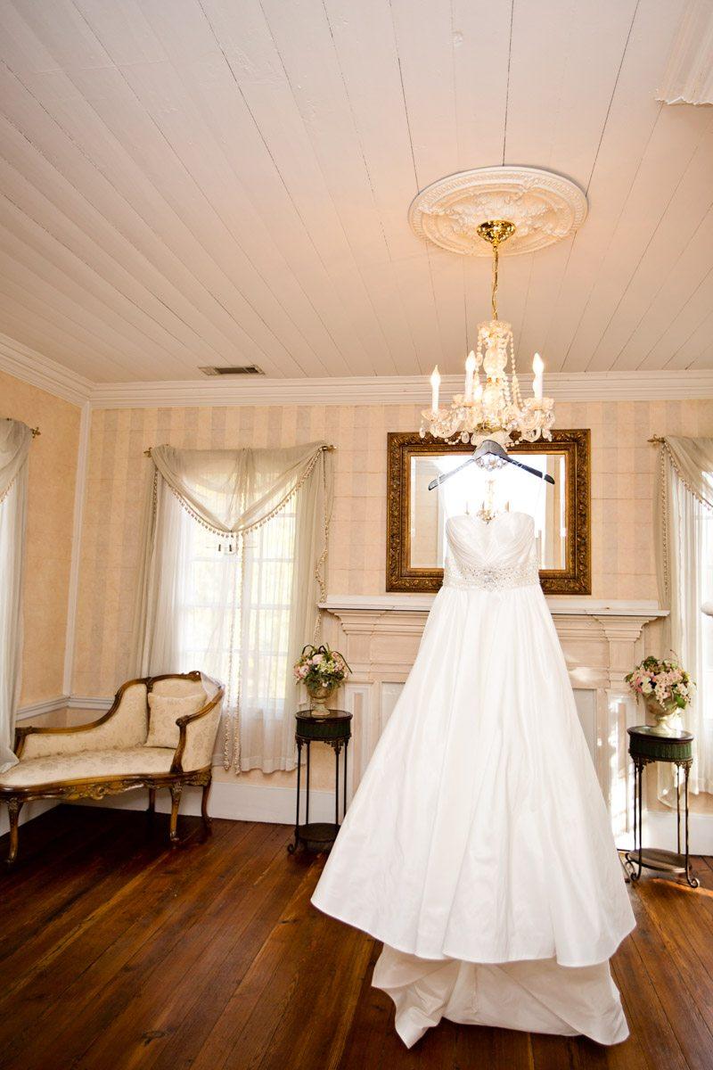 J. Andrews Bridal wedding dress display