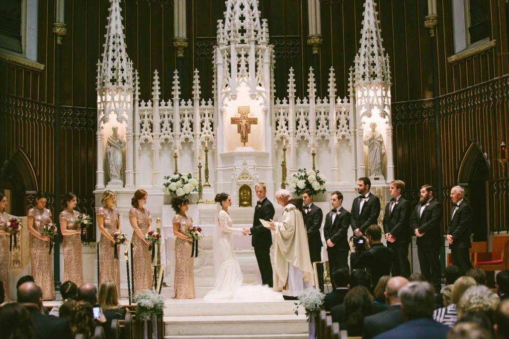 Orthodox church wedding ceremony