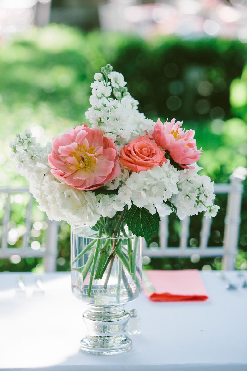 Reception Centerpieces - Mark Williams Studio Photography
