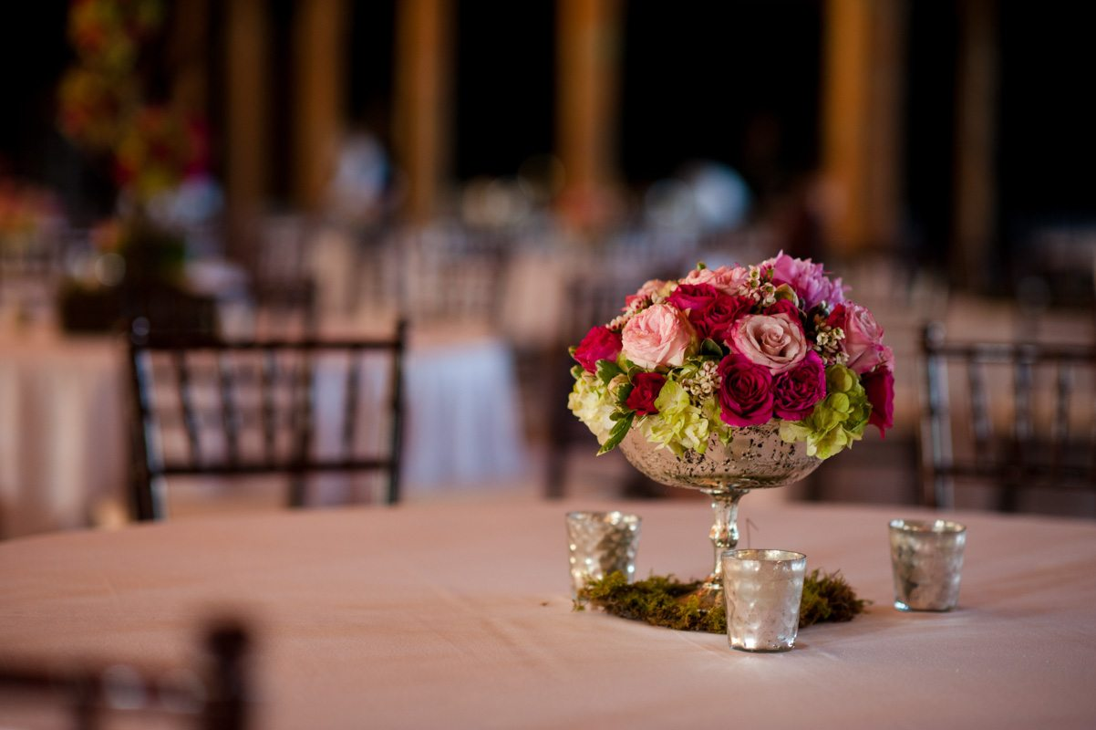 Reception Centerpieces - Tessa Marie Weddings