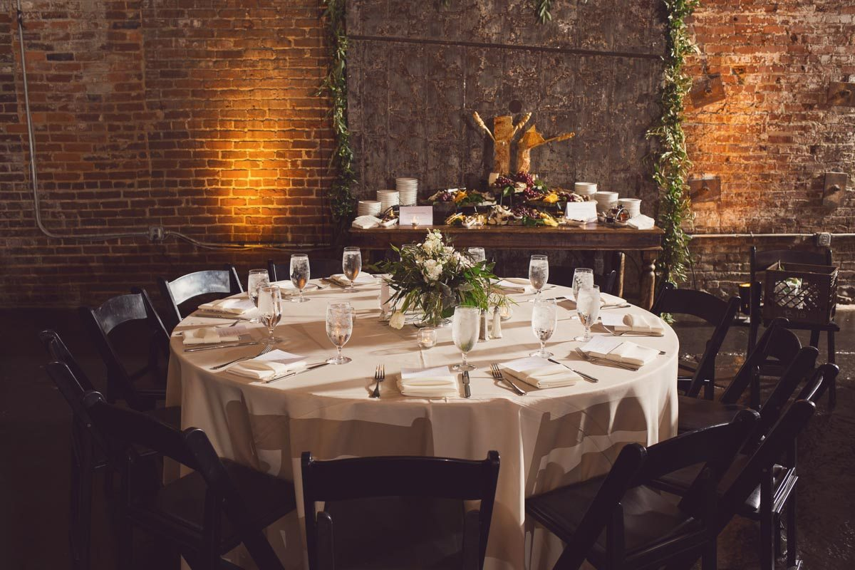 Reception table - Adam for W.Scott Chester
