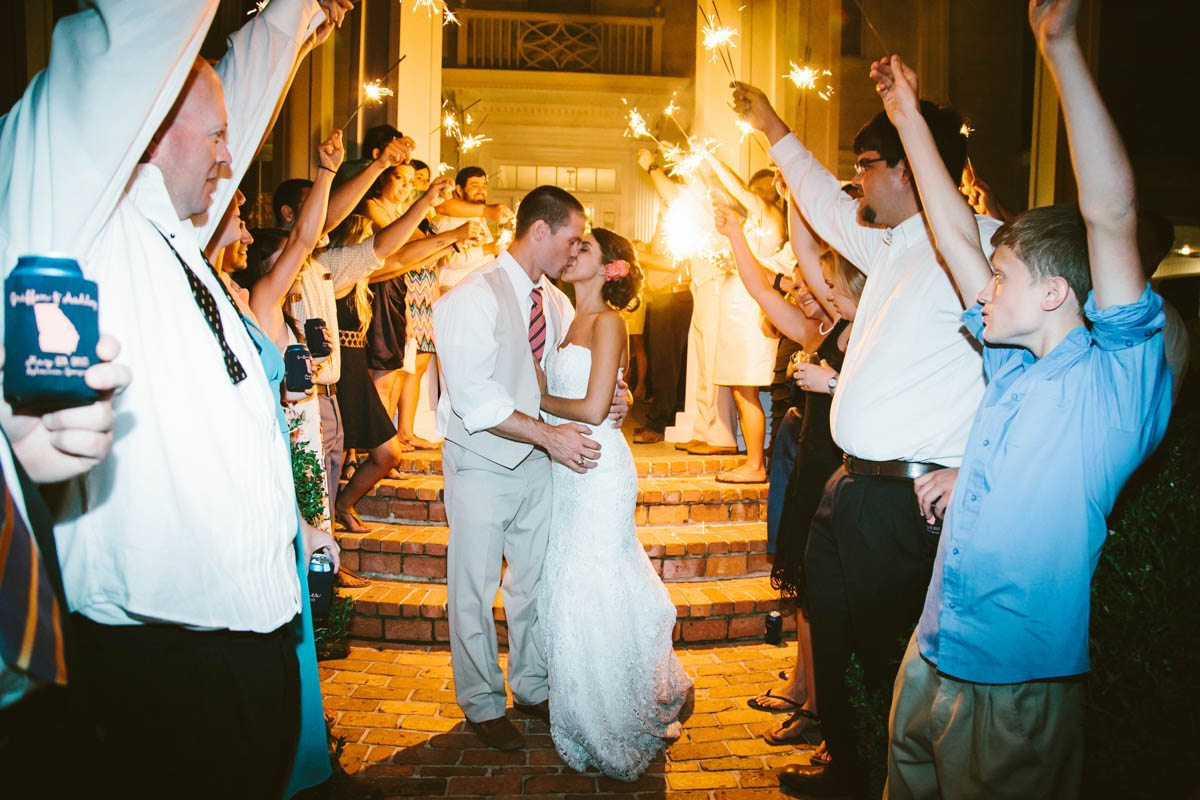 Sparkler Exit - Mark Williams Studio Photography