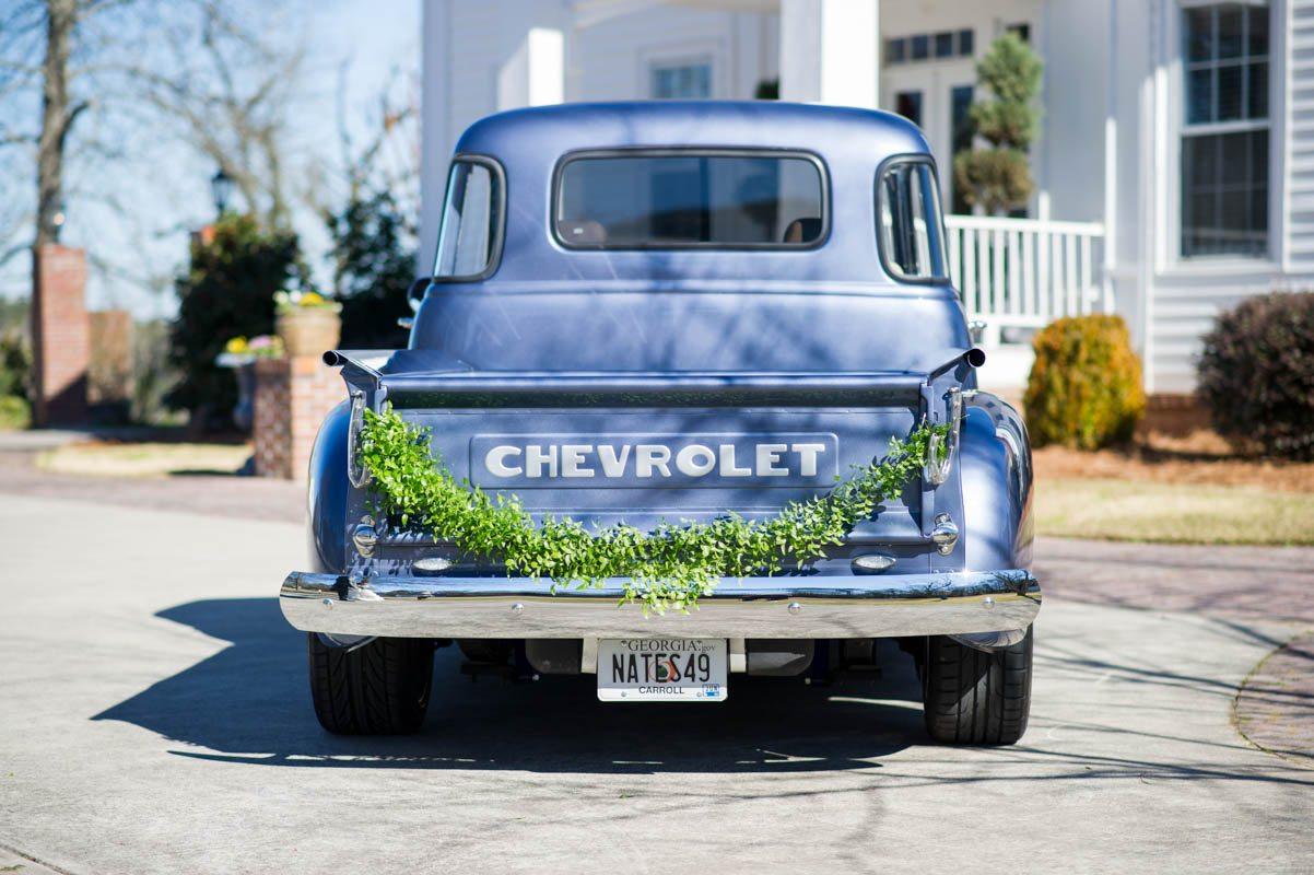 Vintage Truck Getaway Car