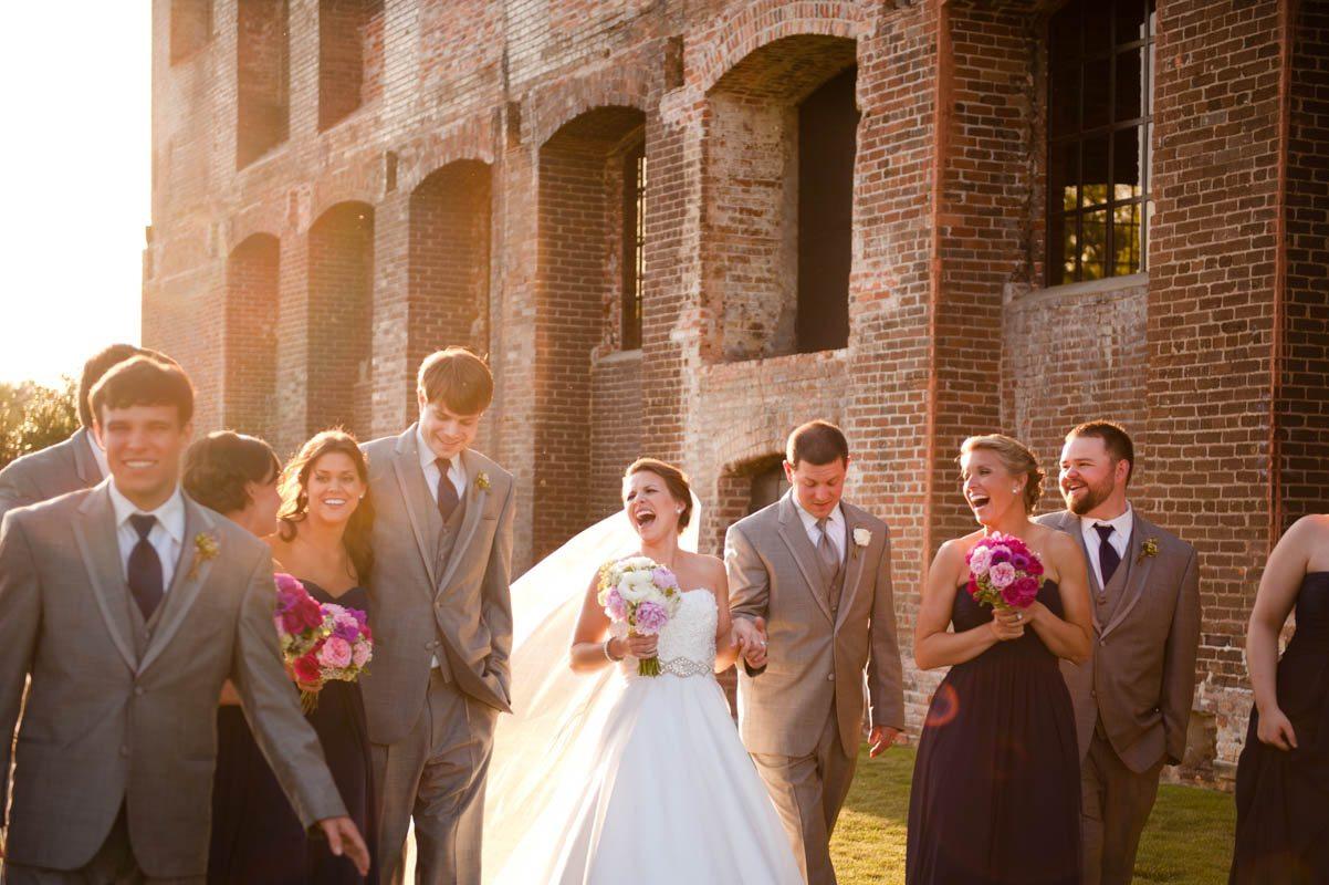 Wedding Party Exit - Tessa Marie Weddings
