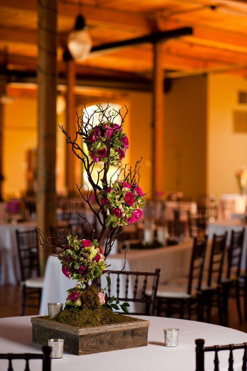 Wedding Reception Centerpiece - Tessa Marie Weddings