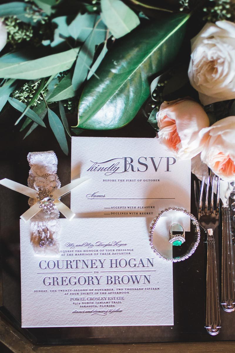 Wedding invitations - Tara Tomlinson Photography