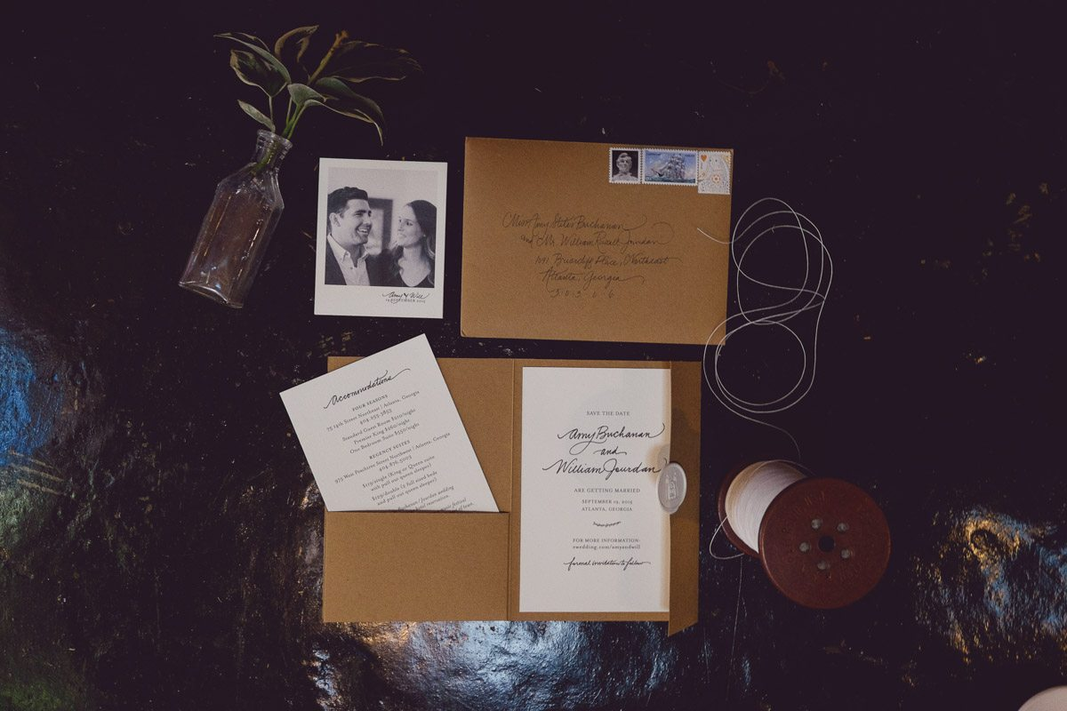Wedding ivitations - Adam for W.Scott Chester