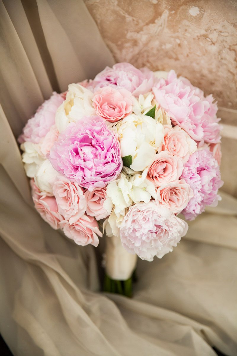 White Pink Bouquet