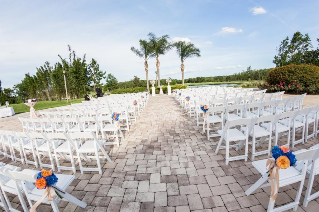 Bright Summer Wedding At Rosen Shingles Creek In Orlando Fl The Celebration Society