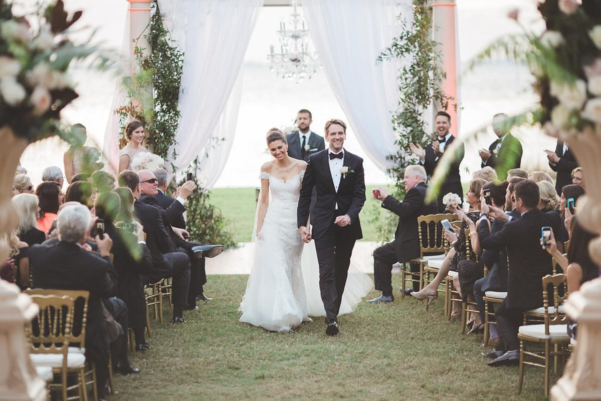 exiting ceremony - Tara Tomlinson Photography