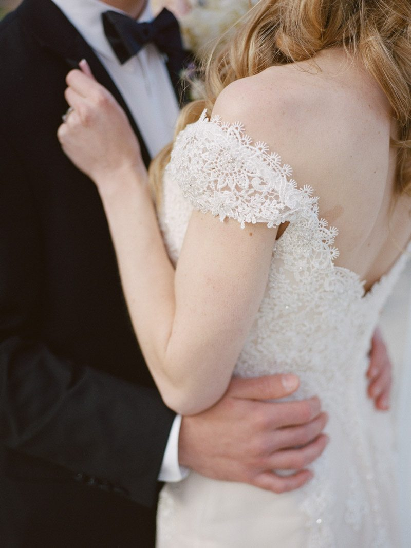 lace wedding dress_french inspired wedding davy whitener