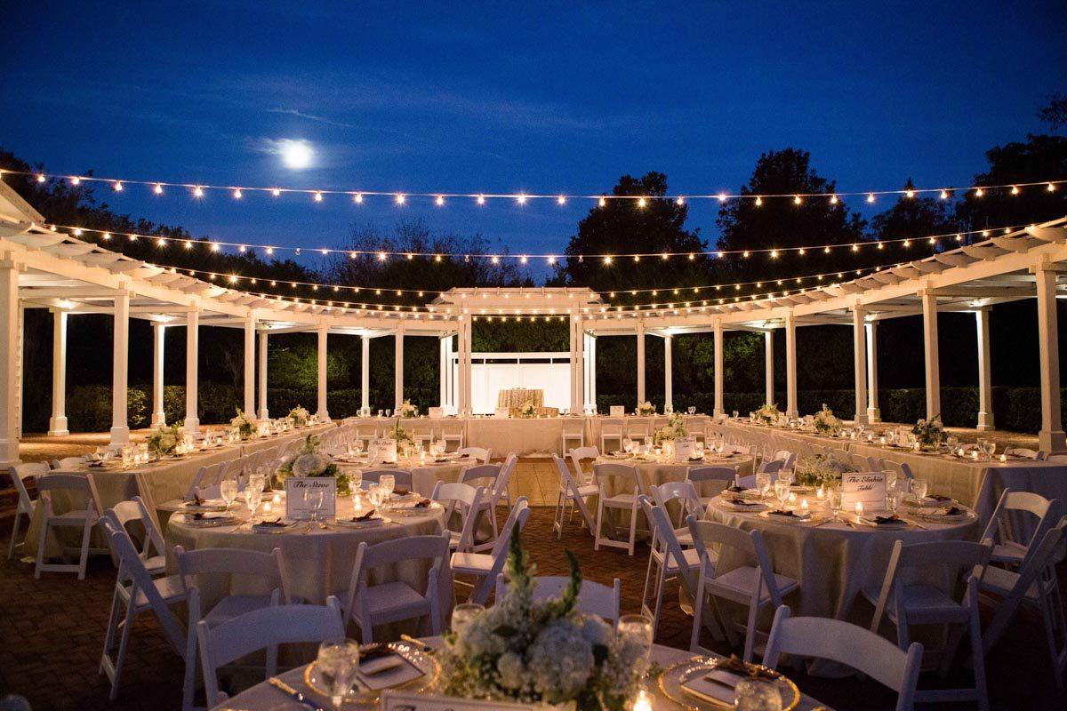 Outdoor Reception Wedding Venue Orlando Florida Cypress