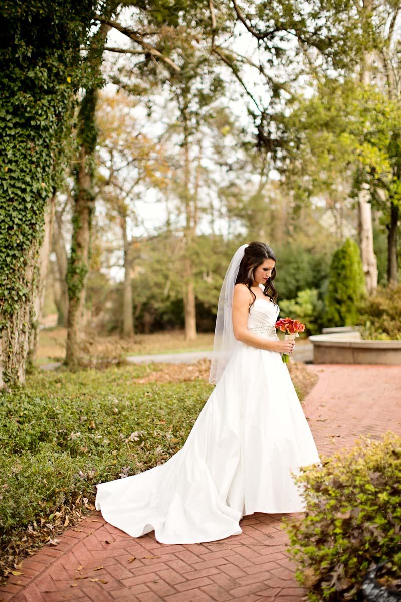 wedding dress full length
