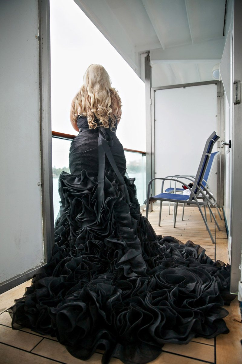 Black Wedding Dress