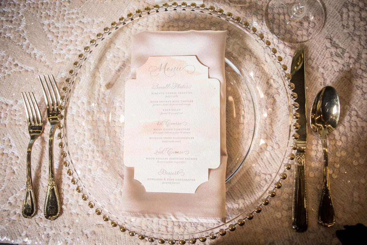 _Blush textured linen and gold rimmed plate charger ScoobieBlushShoot-100