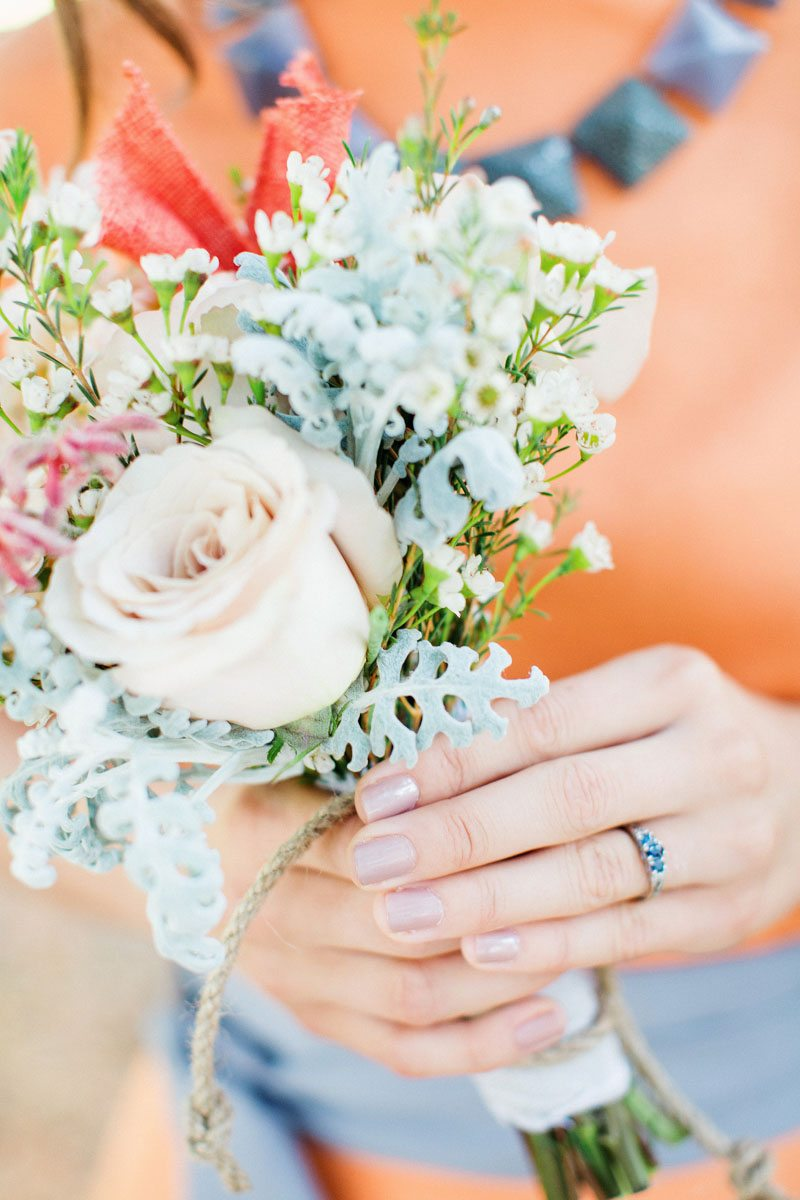 Bridesmaid Bouquet - Izzy Hudgins Photography