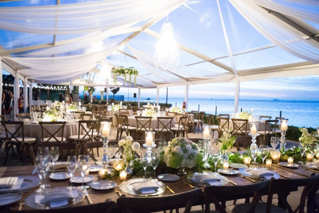 New Years Eve Waterfront Wedding At Sunset Cove In Miami Fl The