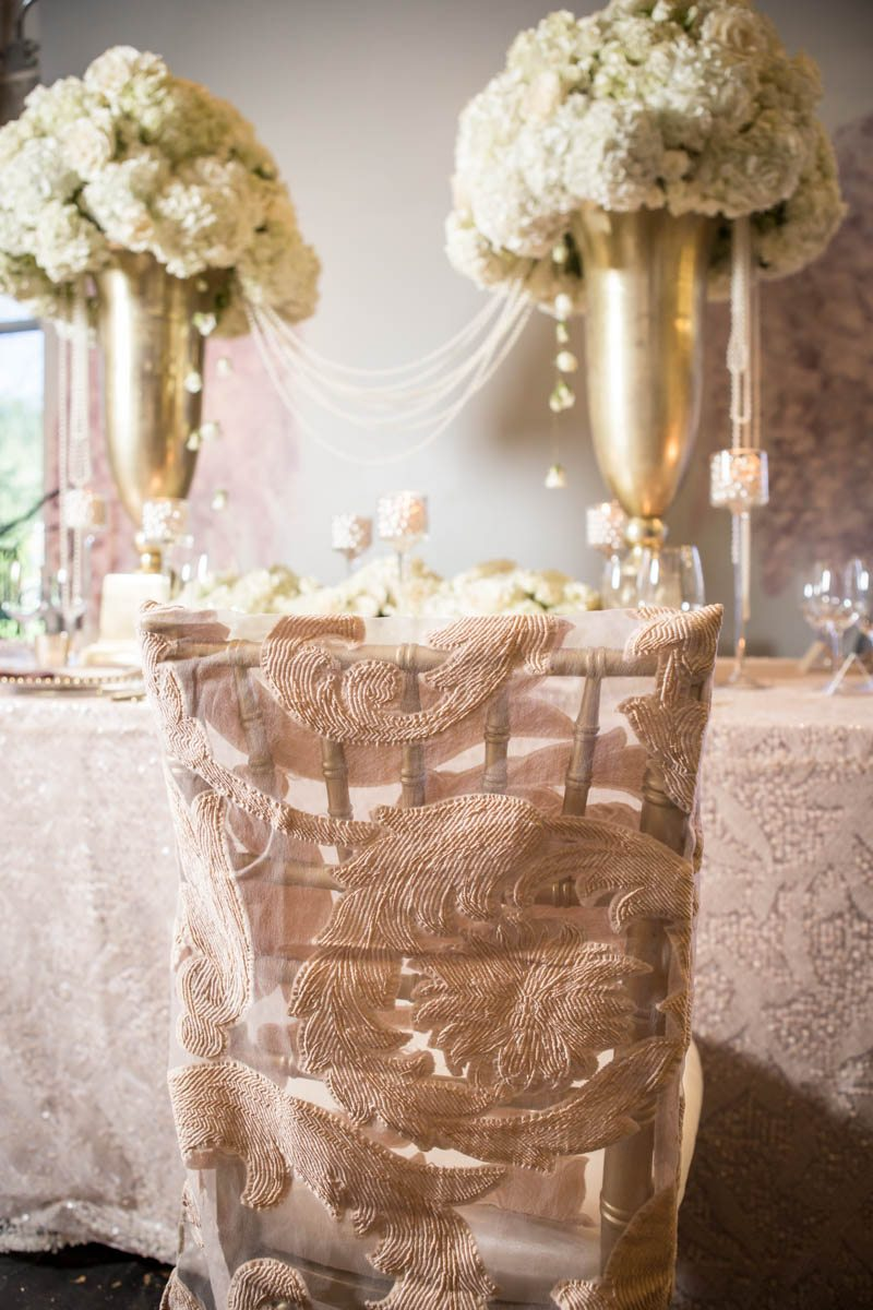 _Close up of blush textured fabric covered chairs ScoobieBlushShoot-110