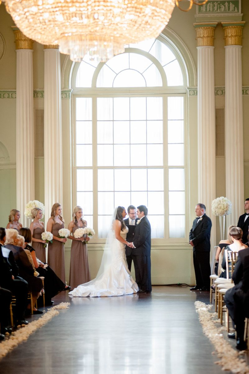 Exchanging Vows - Paris Mountain Photography