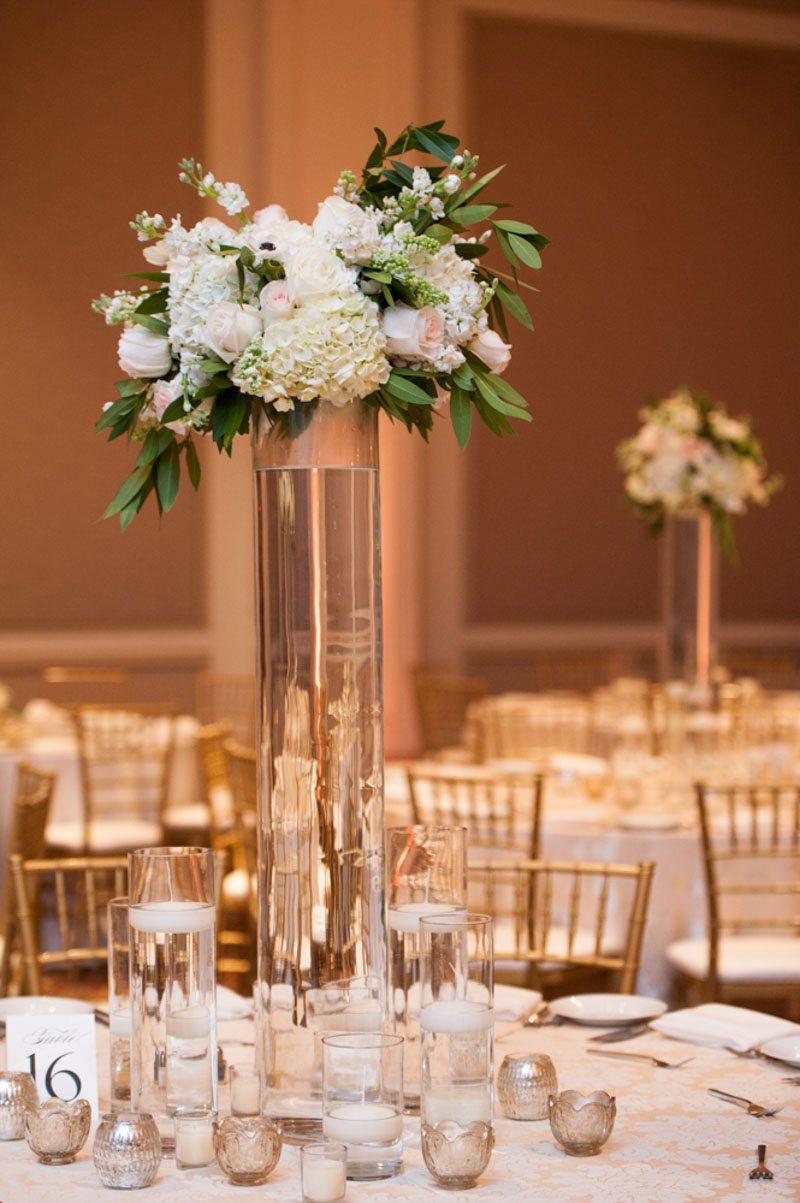Floral Centerpiece Reception