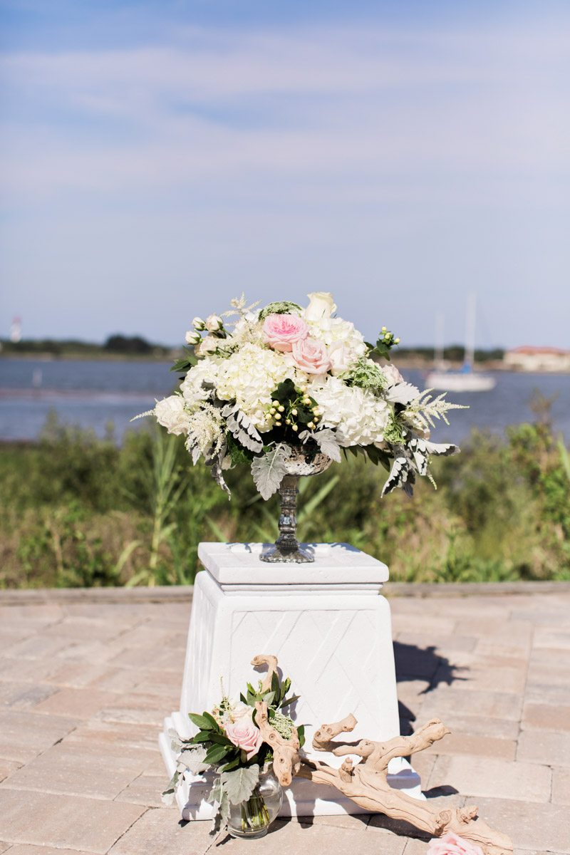 Floral arraingment on ceremony altar christyandtaylor-w-0429