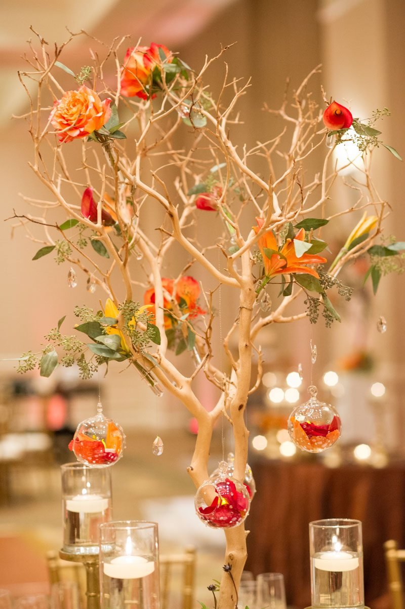 Flower Tree with Hanging Jewels