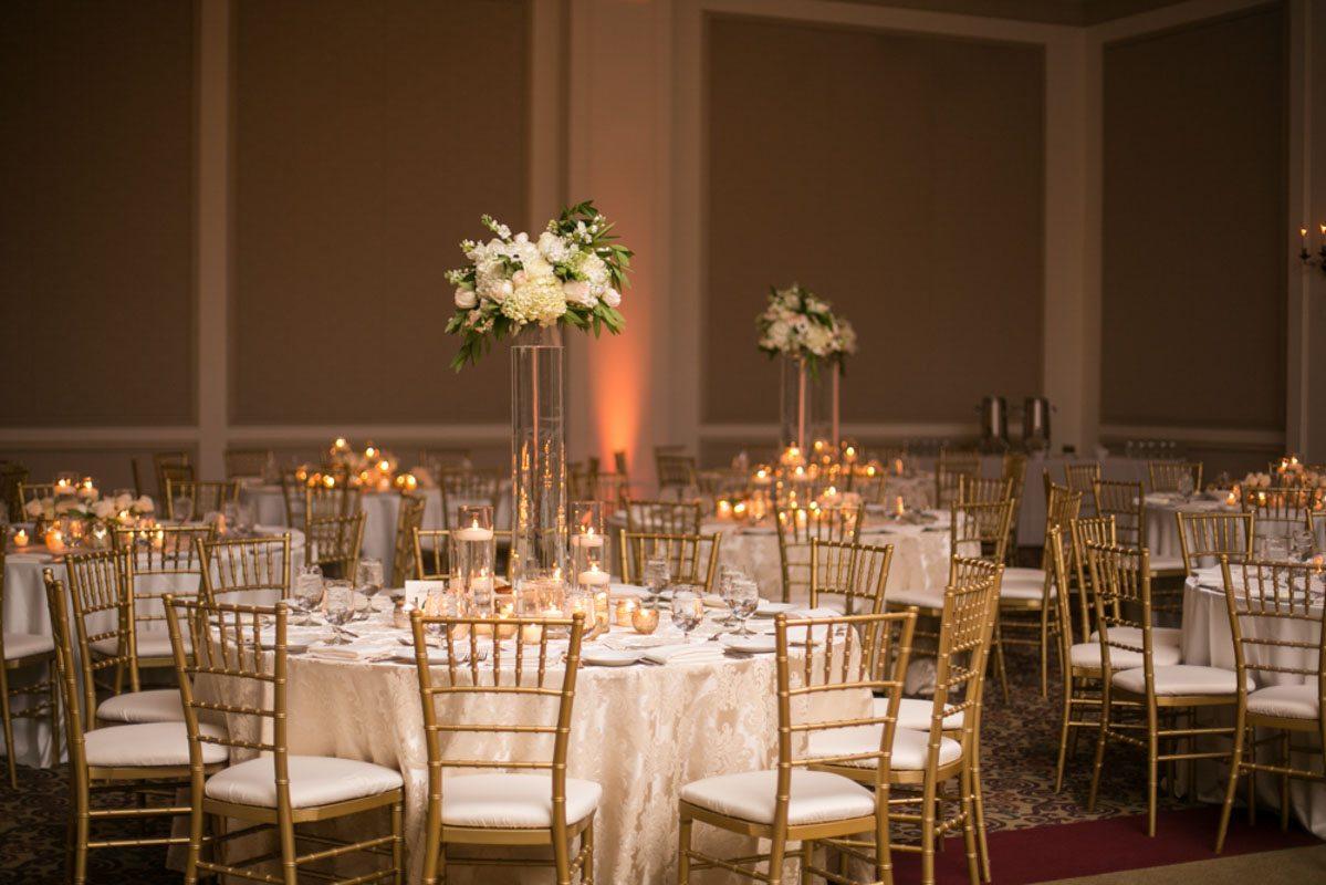 Golden Candlelit Reception