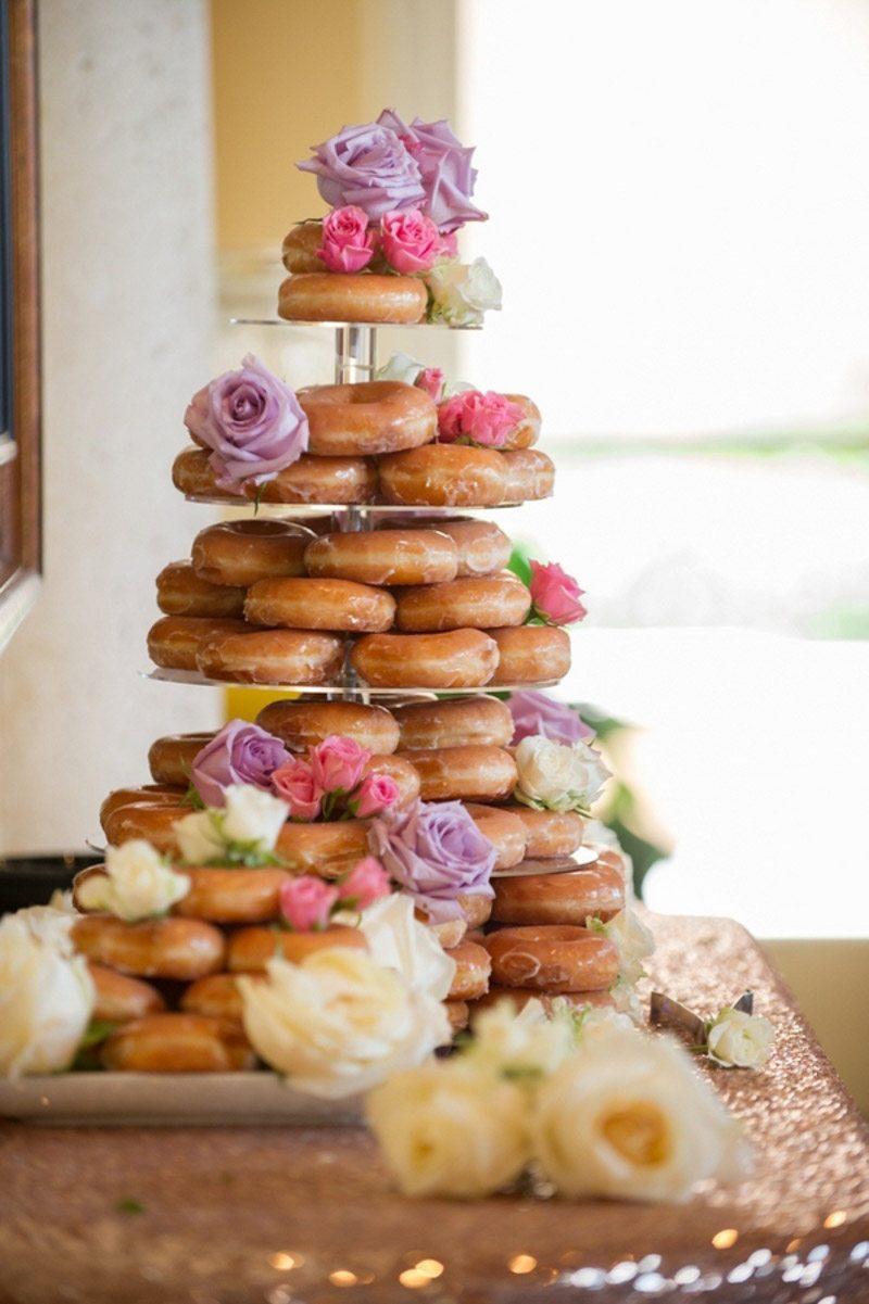 Krispy Kreme cake