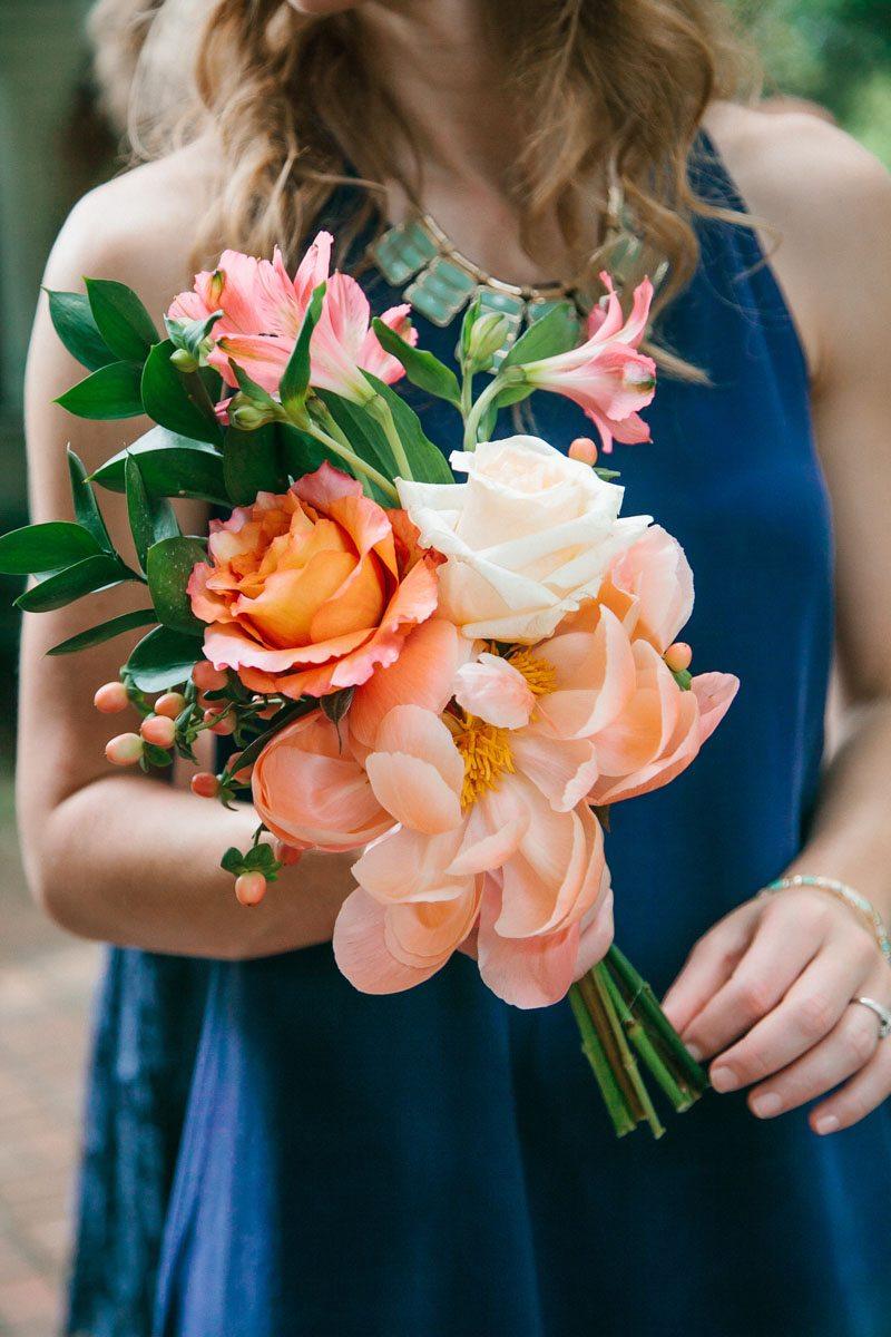 Orange Pink Bouquet