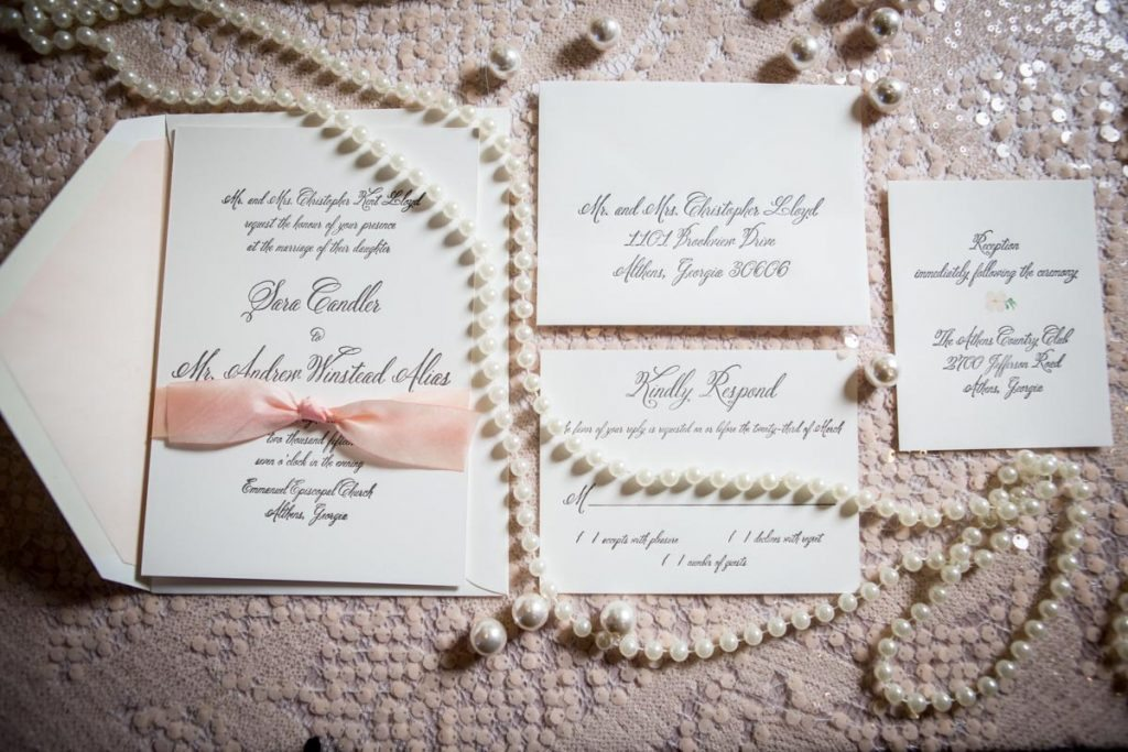 Romantic Blush And Pearl Wedding Inspiration In Atlanta, GA   The  Celebration Society