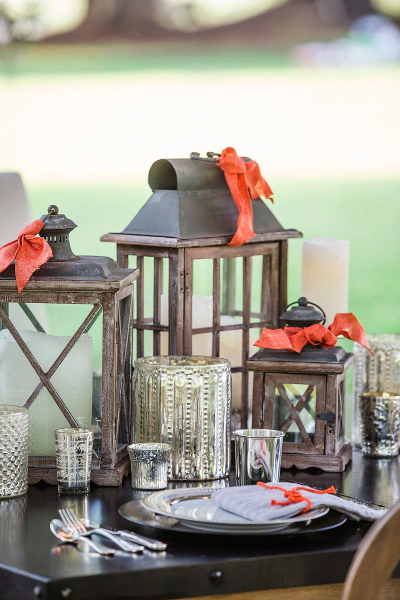 Reception Table Centerpieces - Izzy Hudgins Photography