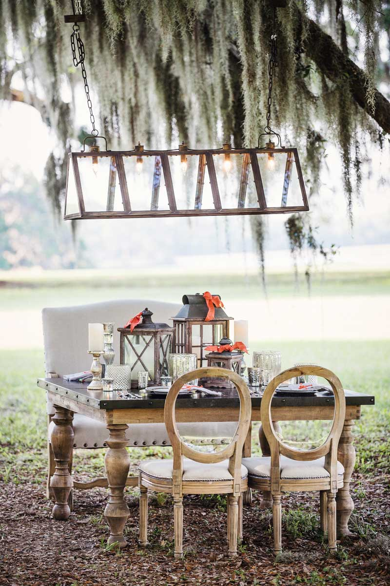 Reception Table - Izzy Hudgins Photography