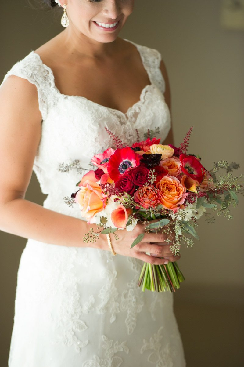 Red Orange Pink Bouquet