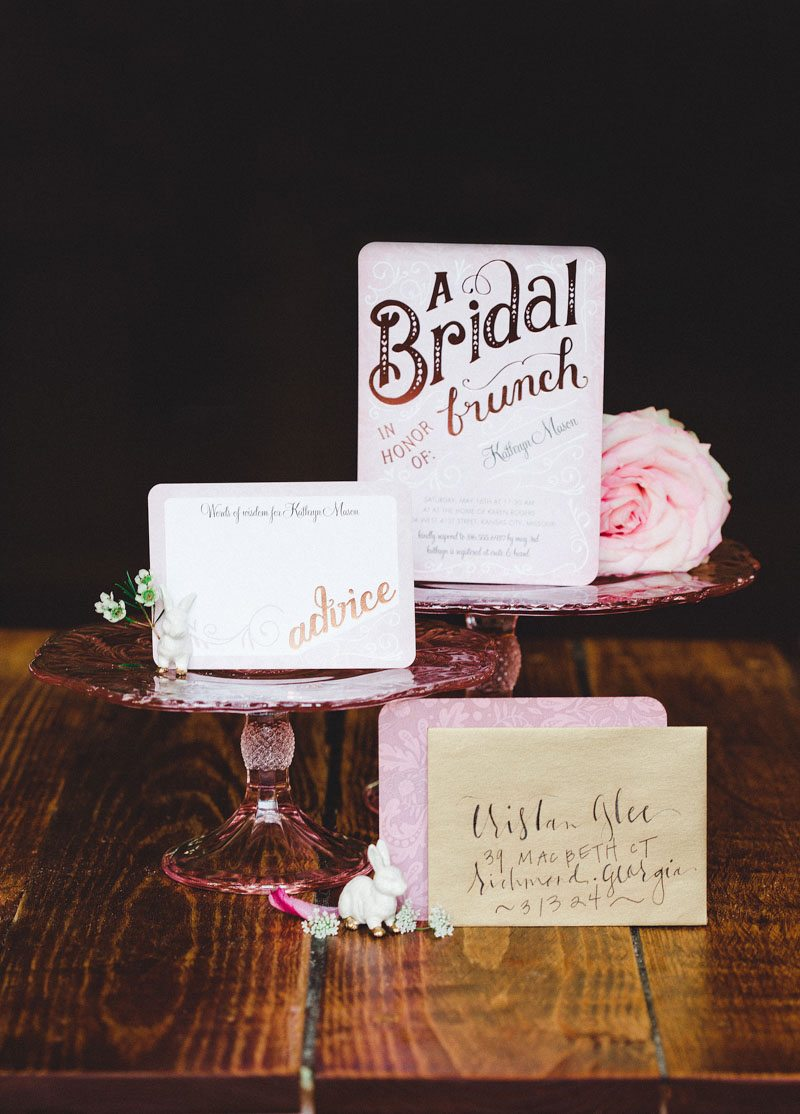 Rose Pink Invitations