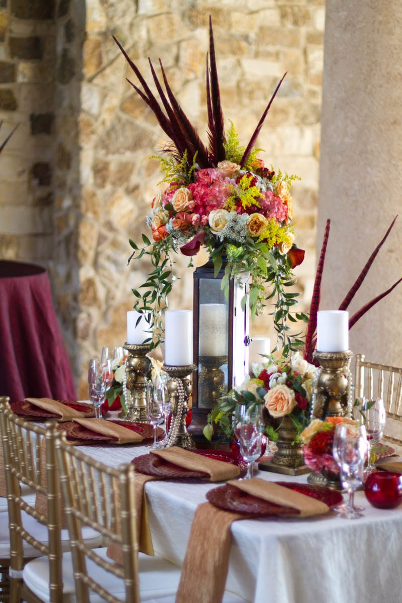 Hunger Games Inspired Styled Shoot At Bella Collina In